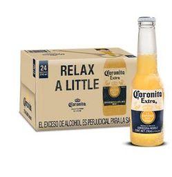 Cerveza Coronita Bandeja x 24 U Botella x 210 mL