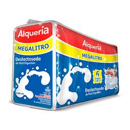 Leche Deslactosada Alqueria X 1100 Ml Sixpack