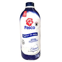 Yogurt Sin Dulce Pasco