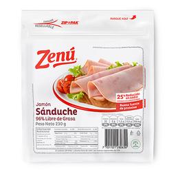 Jamón Sanduche  Zenu