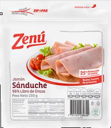 Jamón Sanduche Zenu X 230G