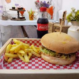 Hamburguesa Tropical en Combo