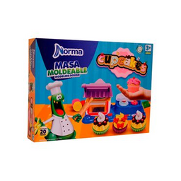Kit Masa Moldeable Cupcakes
