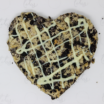 Heart-Shaped Cookies&Cream
