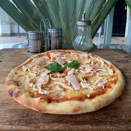 Pizza Pollo y Tocineta