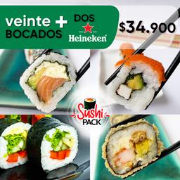 Sushi y Pola x 2