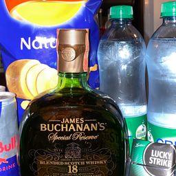 Combo Buchanans 18 años 750 ml
