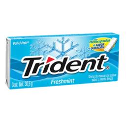 Trident sin Azúcar Fresh Mint