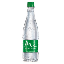 Agua Manantial Con Gas 600 ml