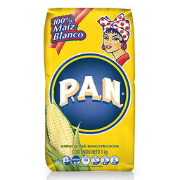 Harina Maíz Blanca Pan