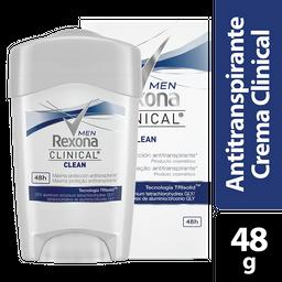 Desodorante en Crema Men Clinical Rexona