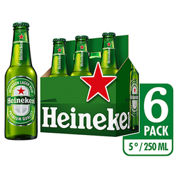 Cerveza SixPack Heineken