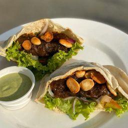 Sándwich Árabe de Kafta
