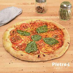 Pizza de Tomate y Albahaca Grande