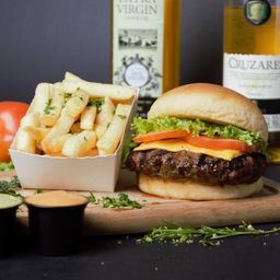 Cheese Burger 200 gr