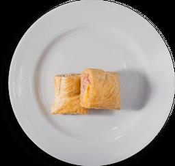 Pastel Jamón y Queso