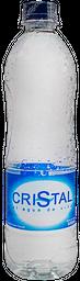 Agua Cristal 600 ml 🍃