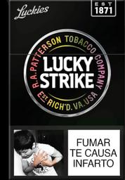 Cigarrillos Lucky Strike 20UN