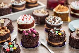 Cheesecake Especial de Blackberry y Brownie