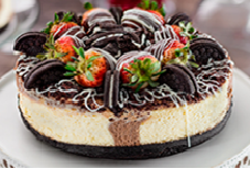 Cheesecake de Brownie y Oreo 8 Porciones