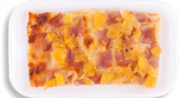 Pizza por porción Hawaiana