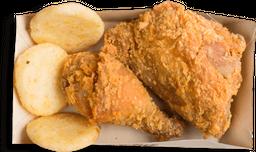 🍗Cuarto Pollo Apanado Frisby