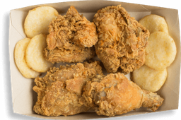 🍗Medio Pollo Apanado Frisby