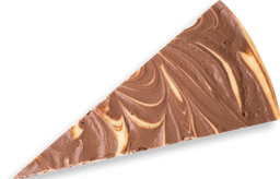 Porción Torta de queso con Chocolate