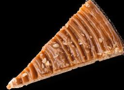 Torta Pequeña de queso con Banano y Arequipe