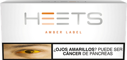 Heets Amber Label Cartón