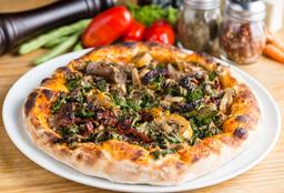 Pizza Queso de Marañón (Vegana)