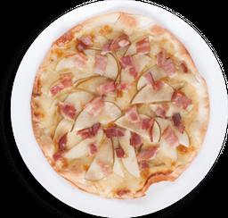 Pizza de Pera Verde y Tocineta