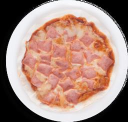 Pizza Jamón y Mozarella