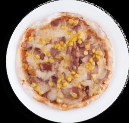 Pizza de Maiz y Tocineta