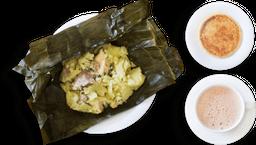 Tamal + Arepa + Chocolate