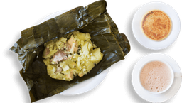 Tamal + Arepa + Chocolate
