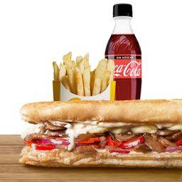 Combo Sándwich Vegetariano Champiñon