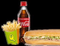 Combo Sándwich De Maíz Chorizo