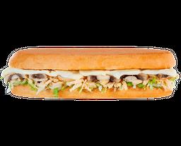 Sándwich De Pollo Y Champiñones
