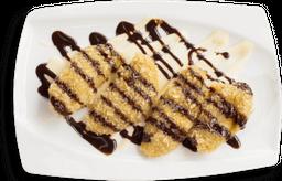 Banana tempura