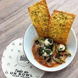 🍛Bowl Italiano (Salsa Boloñesa 100% Res) 450gr