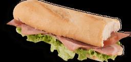 Sándwich de Jamón y Tocineta