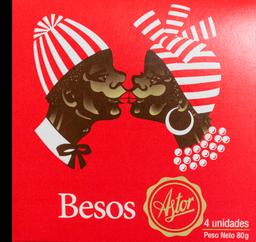Besos Astor x4