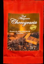 Café recubierto de chocolate