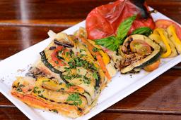 Porción de Pizza Vegetariana