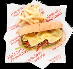 Sandwich de Lomo de Res