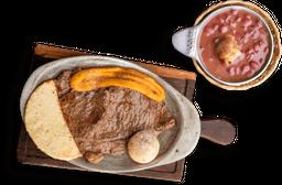 Combo 1/2 Carne + 1/2 Frijolada