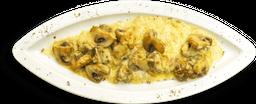 Champiñones Formaggio ( Al Horno)