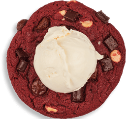🍪Galleta Red Velvet con Helado🍦