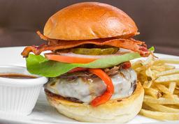 🍔The Ranch Burger 150g + Papas